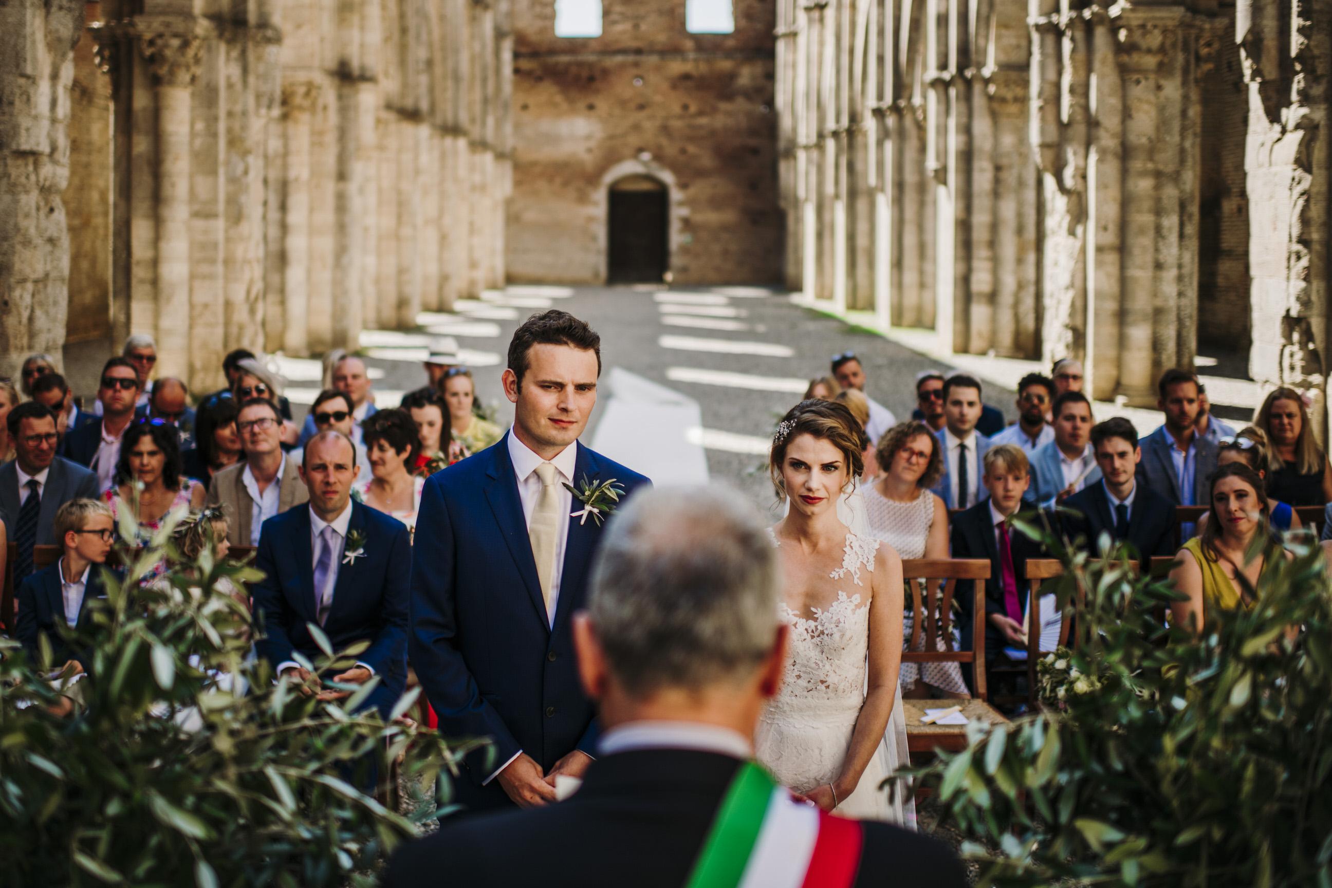 Wedding in San Galgano - Kirsten & David