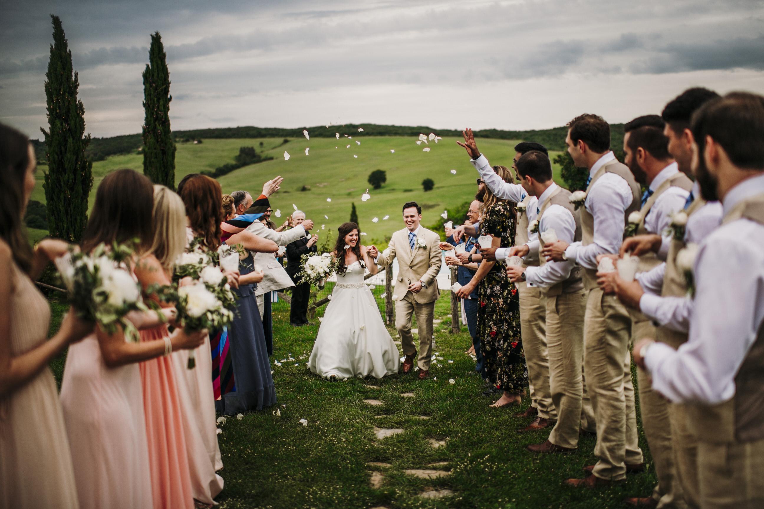 Laura & Drew - Wedding Villa Podere Scopicciolo